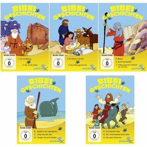 DVD »Bibel Geschichten Teil 1 - Teil 5«