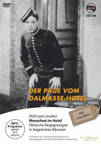 DVD »Der Page vom Dalmasse-Hotel«