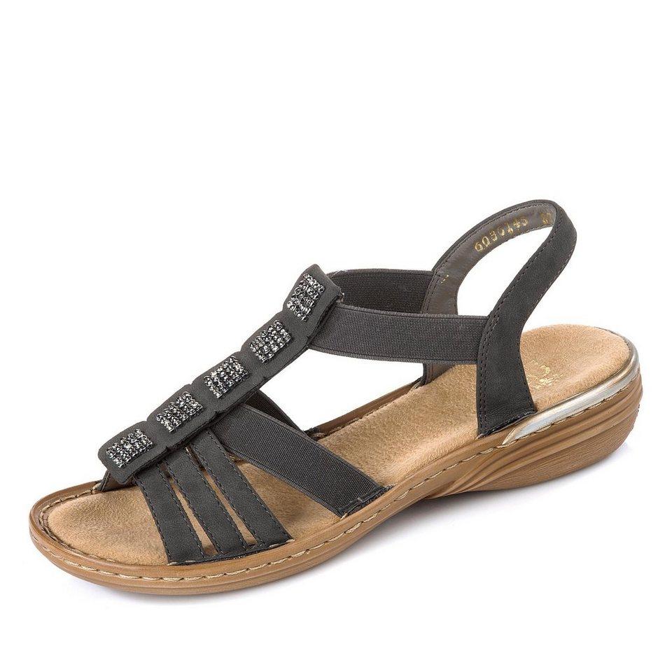 Rieker Sandale in grau