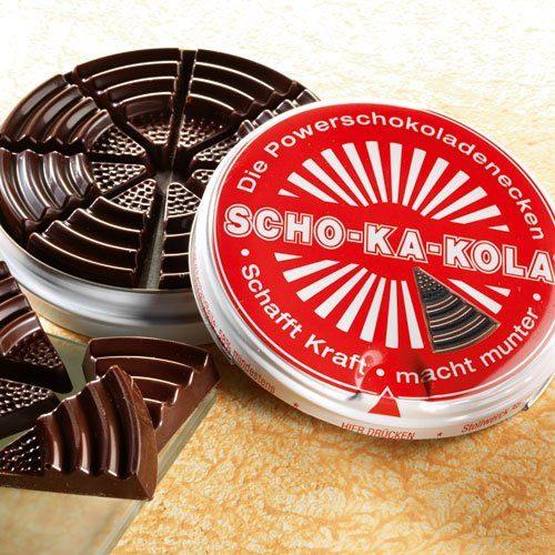SCHO-KA-KOLA Zartbitterschokolade Scho-Ka-Kola 4er-Set (Packung, 4tlg)