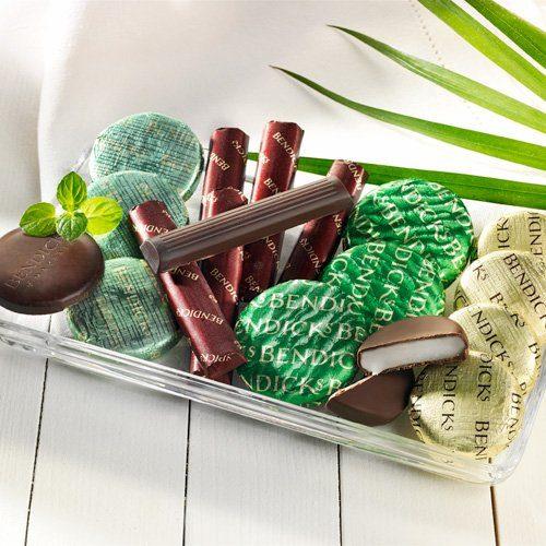 Bendick's Pfefferminze Pralinen mit Zartbitterschokolade