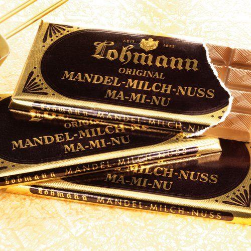 Lohmann Schokolade Mandel-Milch-Nuss 10er-Set (Packung, 10tlg.)