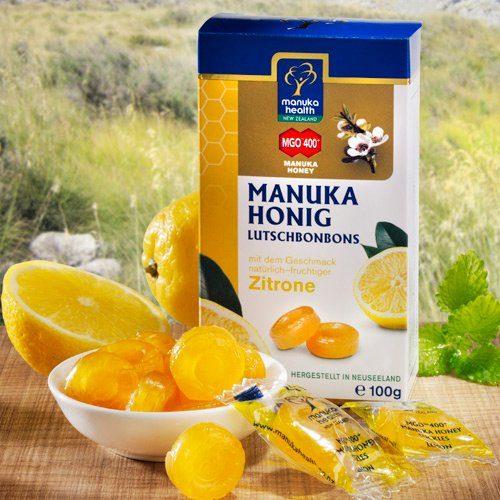 Manuka Health Manuka Bonbons MGO™ 400+ mit Zitrone