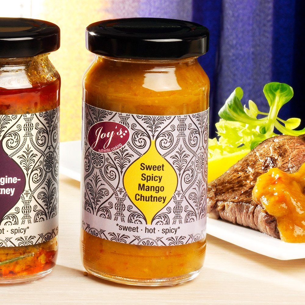 Joy's authentic cooking Chutney Sweet Spicy Mango