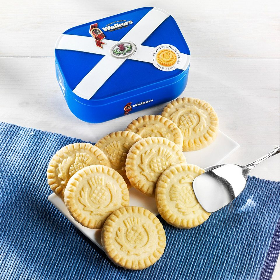 Walkers Walkers Shortbread Rounds in Flaggen Dose