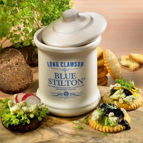 Fromi Käse Blue Stilton im Tontopf - Englische Spezialität