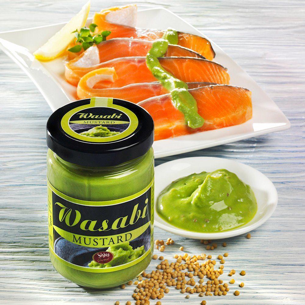 Wajos Wasabi Senf 145 ml