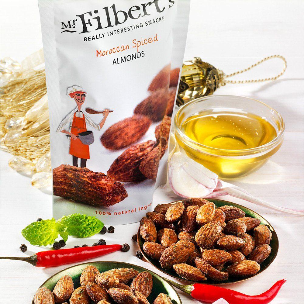 Mr. Filbert's Geröstete Mandeln nach marokkanischer Art