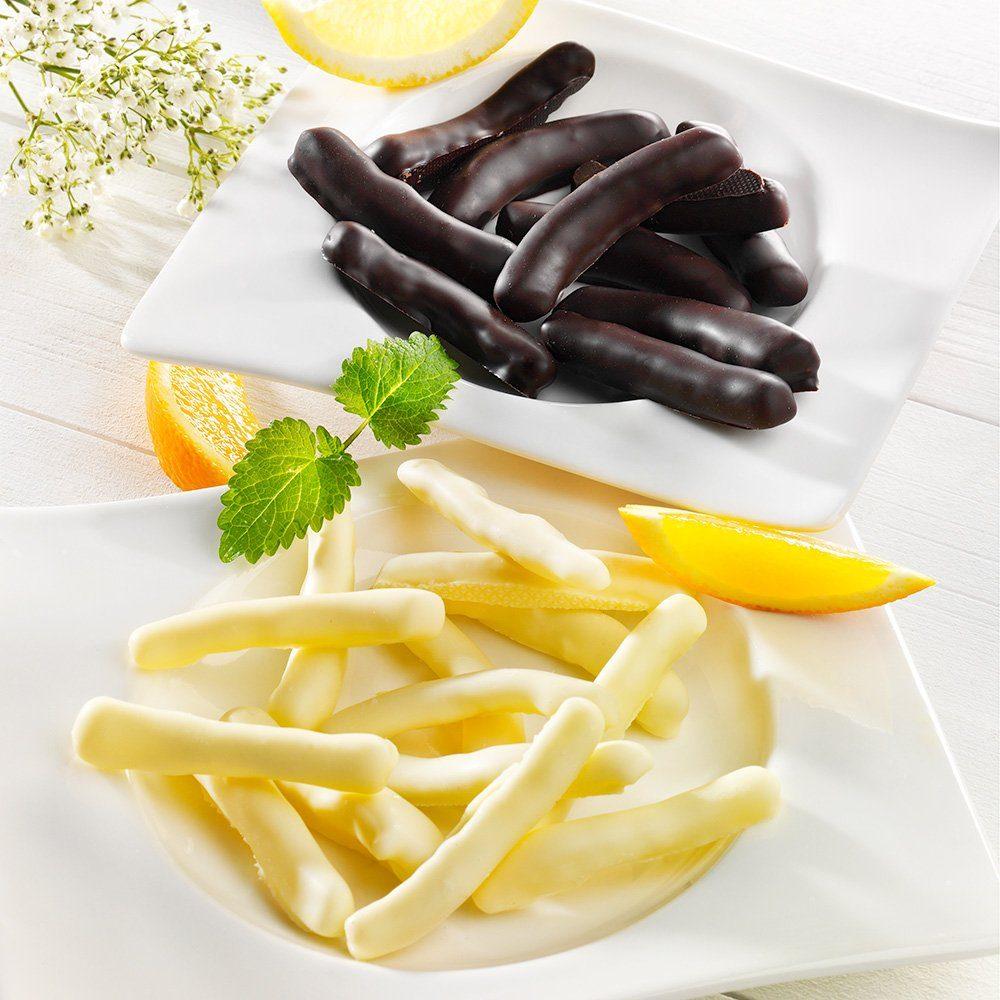 Biffar Kandierte Orangen- und Zitonenstäbchen in Schokolade von Biffar