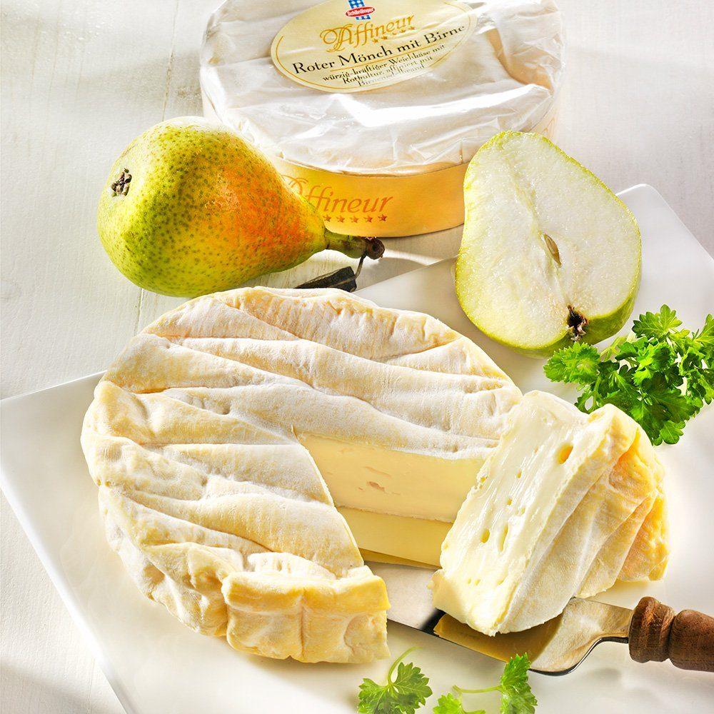Ruwisch & Zuck Käse Roter Mönch mit Birne, im Stück