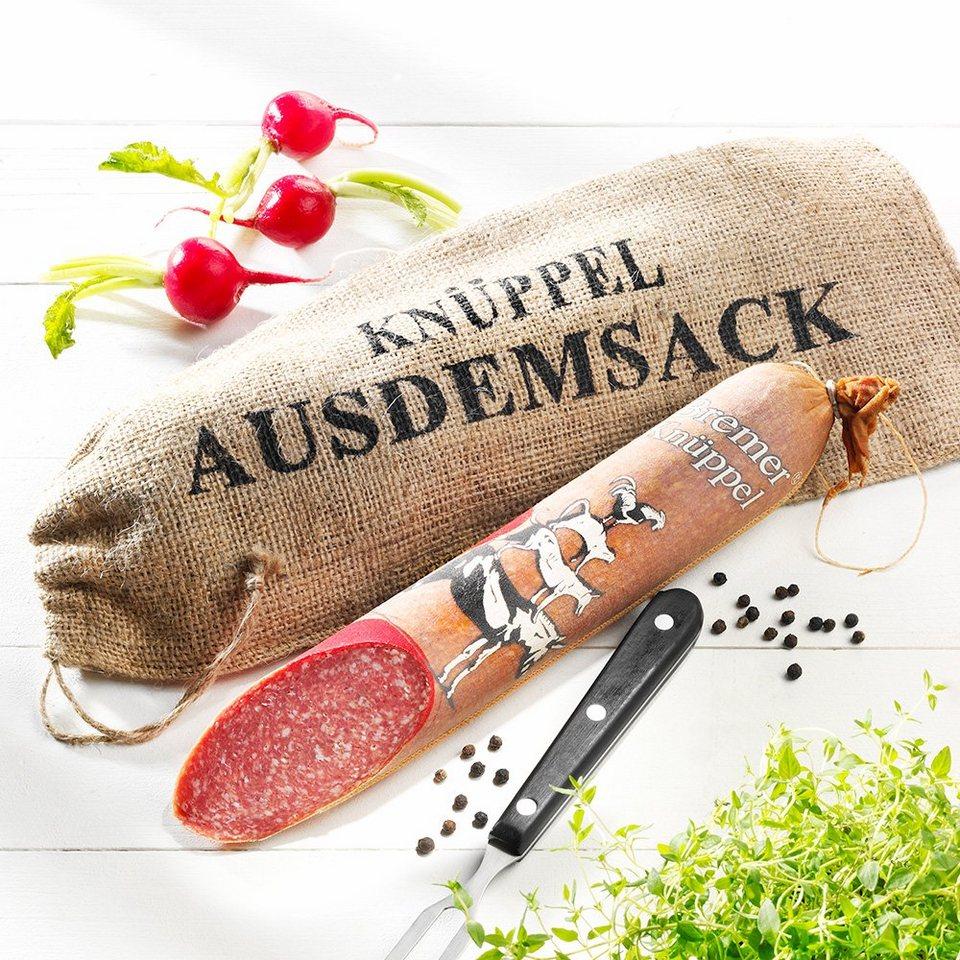 Knüppel Spezialitäten Salami Original Bremer Knüppel aus dem Sack, im Stück