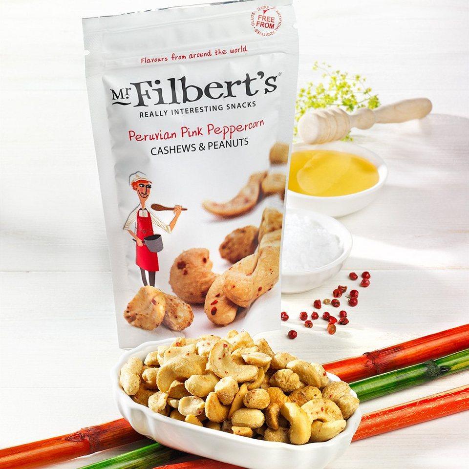 Mr. Filbert's Cashewkerne & Erdnüsse mit rosa Pfeffer
