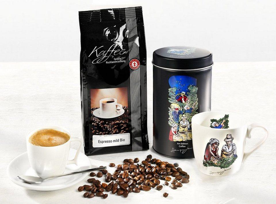 Geschenkset Kaffee Henrique Lemes