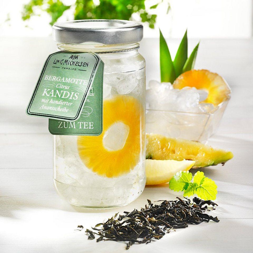 L.W.C. Michelsen Bergamotte Citrus Kandis mit Ananasscheibe