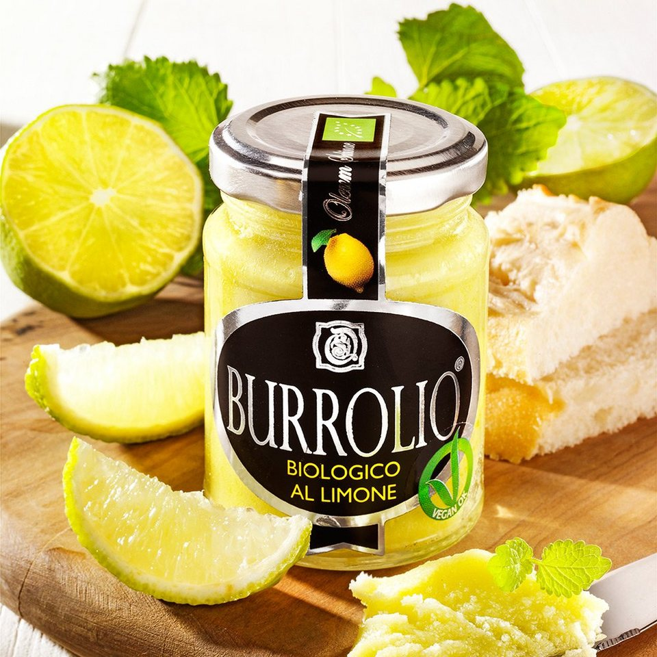 Olivicio Burrolio Limone Bio, vegan