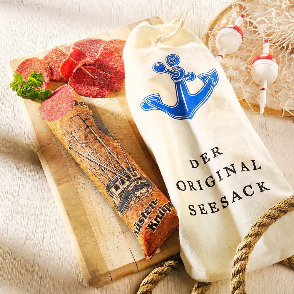 Knüppel Spezialitäten Salami Original Seesack - Küsten-Knüppel im Stück
