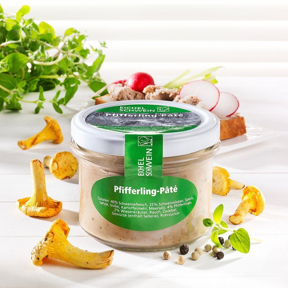 Eichelschwein Pfifferling-Paté