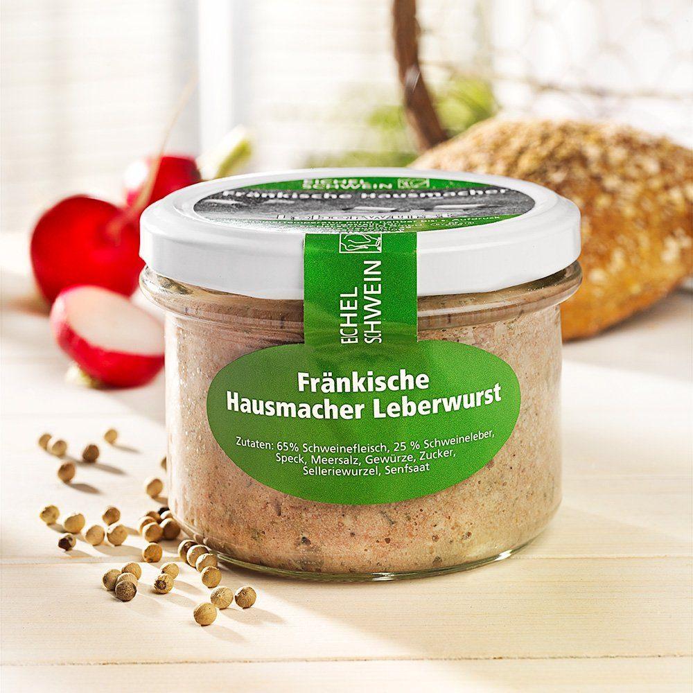 Eichelschwein Fränkische Hausmacher Leberwurst
