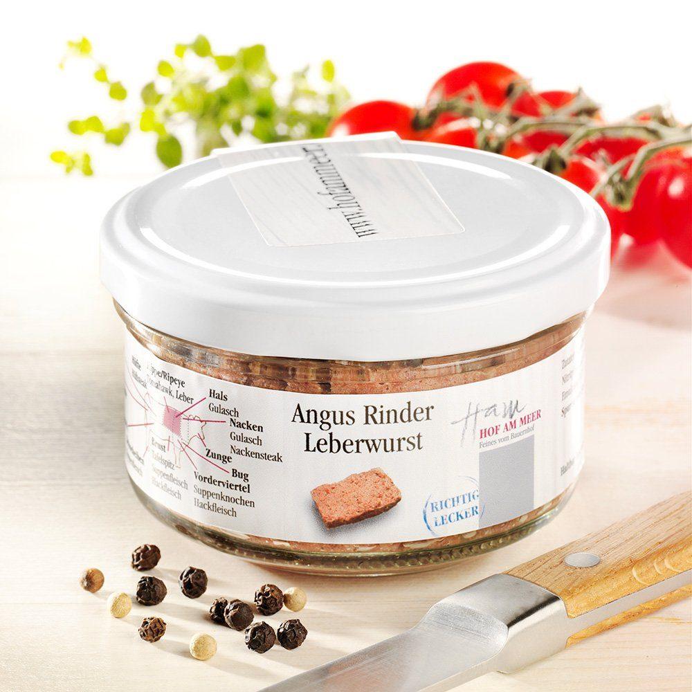 Hof am Meer Angus Rinder-Leberwurst