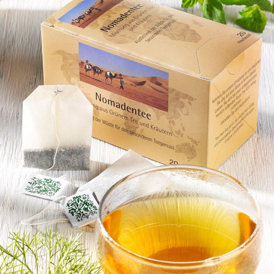 Abtswinder Nomadentee - Grüner Tee mit Kräutern