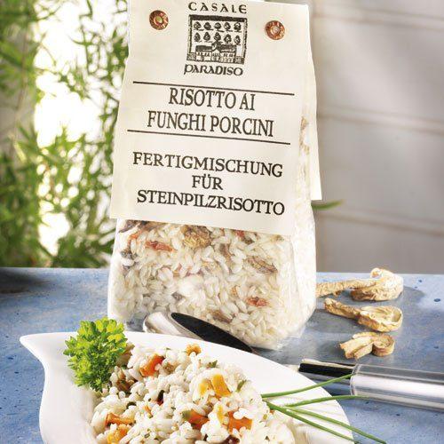Casale Paradiso Risotto mit Steinpilzen