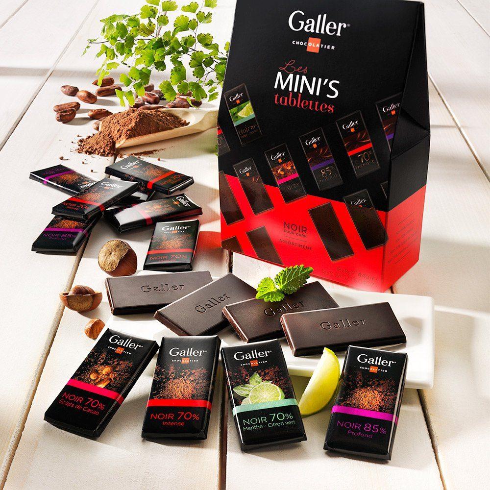 Galler Galler Mini-Täfelchen Zartbitter
