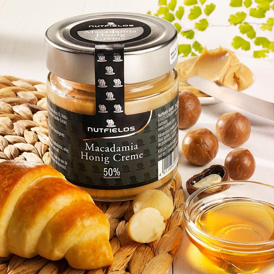 Nutfields Brotaufstrich Macadamia Honig-Creme