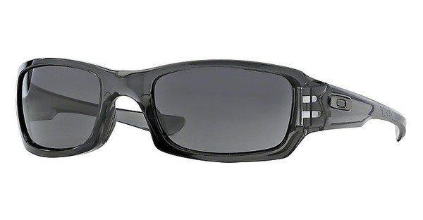 Oakley Herren Sonnenbrille »FIVES SQUARED OO9238«, schwarz, 923818 - schwarz/grün