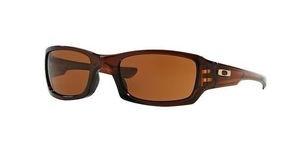 Oakley Herren Sonnenbrille »FIVES SQUARED OO9238«, braun, 923807 - braun/braun