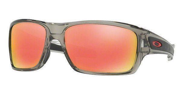Oakley Herren Sonnenbrille »TURBINE OO9263«, grau, 926309 - grau/grün