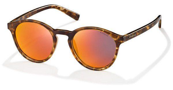 Sonnenbrille Sonnenbrille Polaroid Sonnenbrille , Braun Schwarz