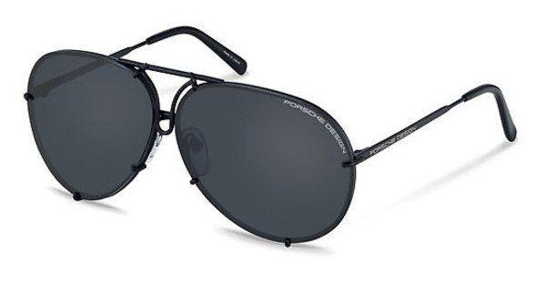 PORSCHE Design Porsche Design Sonnenbrille » P8478«, grau, C - grau/ orange