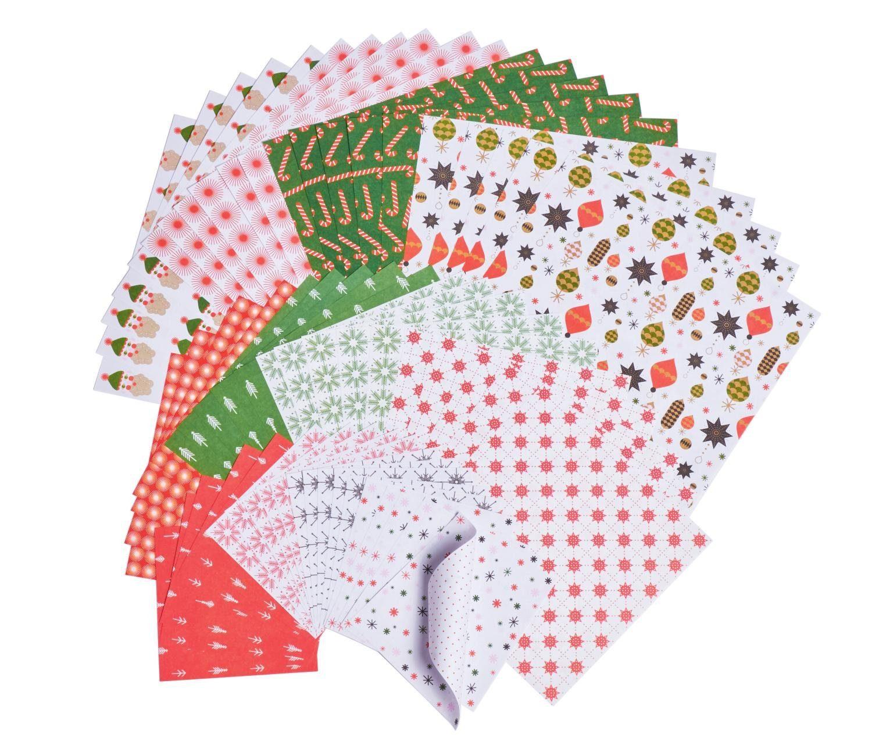 "Paper Poetry Origami Papier ""Puristic Christmas"" 60 Blatt"