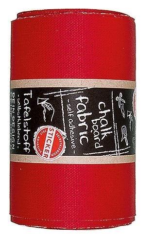 "Tafelstoff ""Rot"" 3 m x 12 cm"