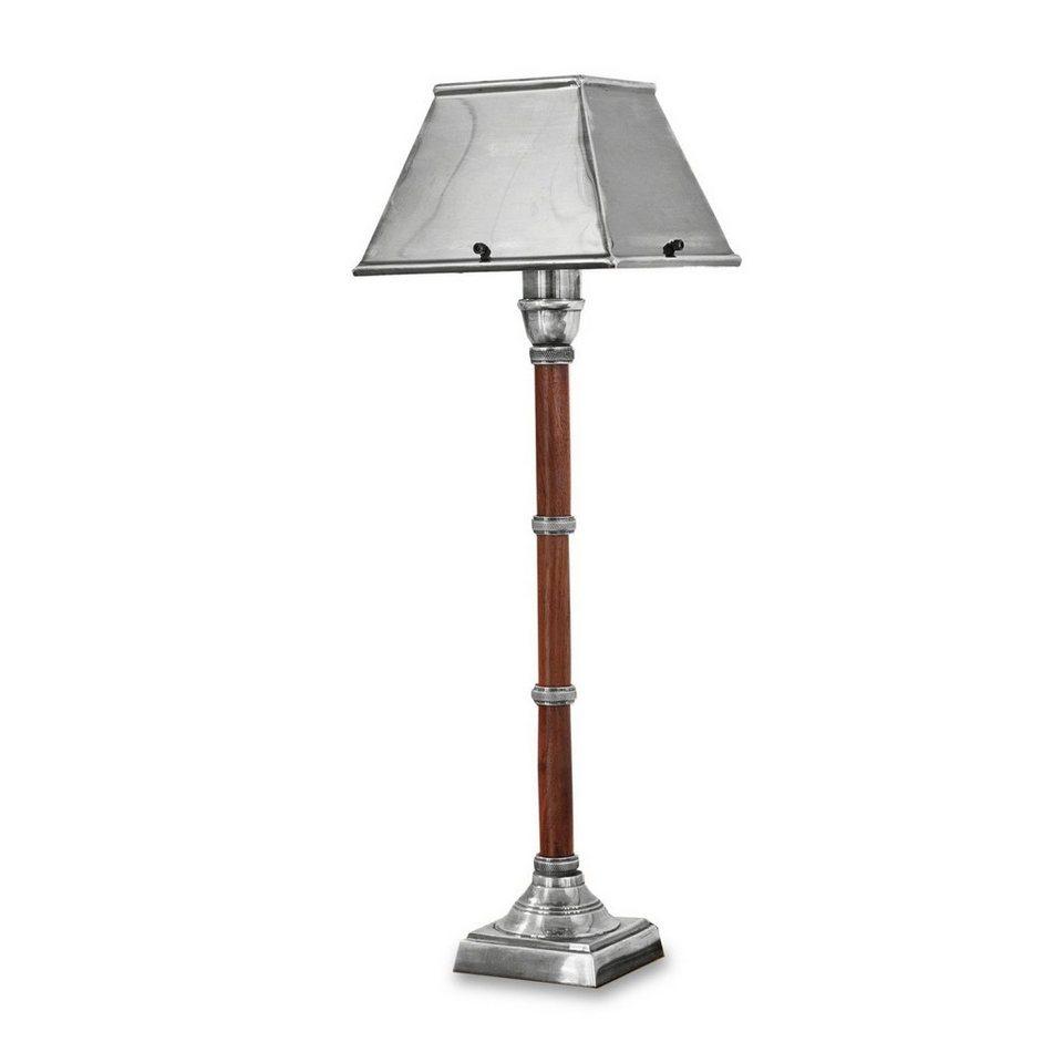 Loberon Tischlampe »Attala« in silber/braun