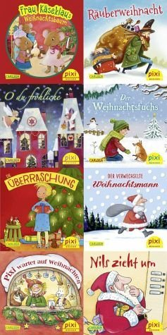 Broschiertes Buch »Pixi-Bundle 8er Serie W 31: O du fröhliche ...«