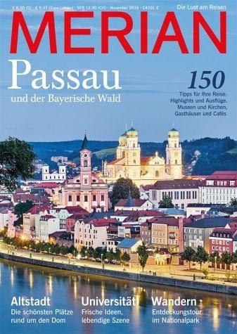 Broschiertes Buch »MERIAN Passau«