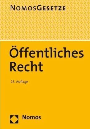 Broschiertes Buch »Öffentliches Recht«
