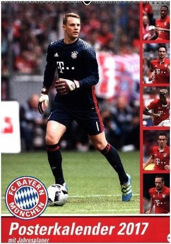 Kalender »FC Bayern München Posterkalender 2017«