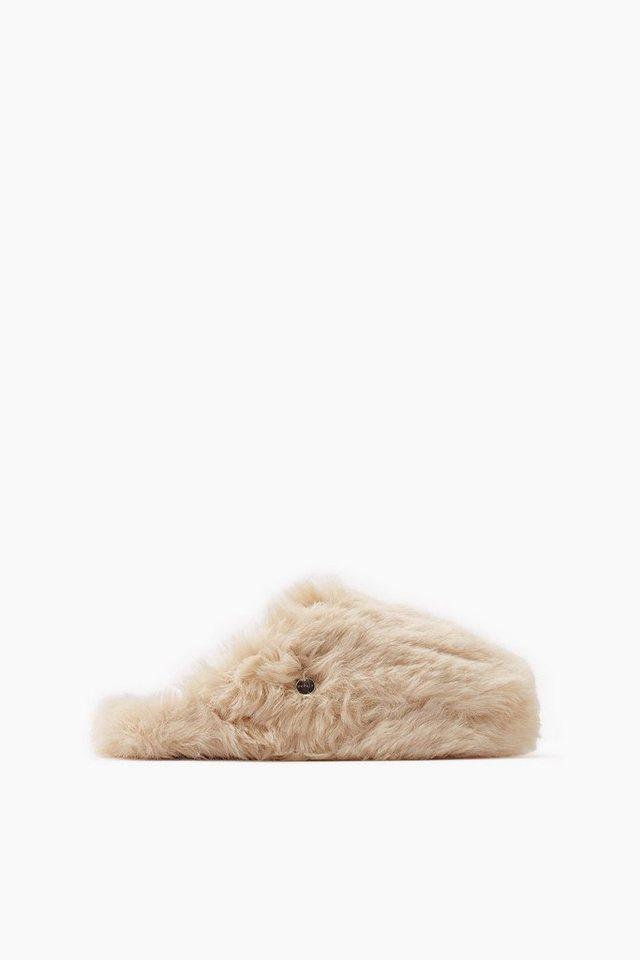 ESPRIT CASUAL Plüsch Home Slipper in CREAM BEIGE
