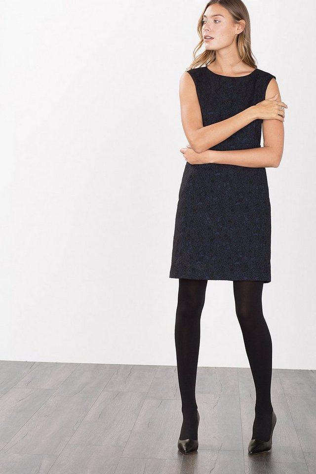 ESPRIT COLLECTION Kleid in Spitzen-Optik-Jacquard in NAVY