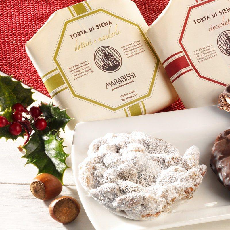 Marabissi Panforte mit Datteln und Mandeln