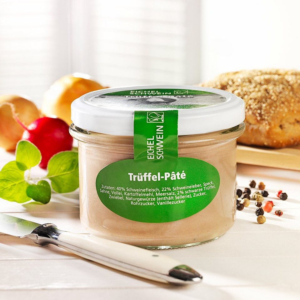 Eichelschwein Trüffel-Paté