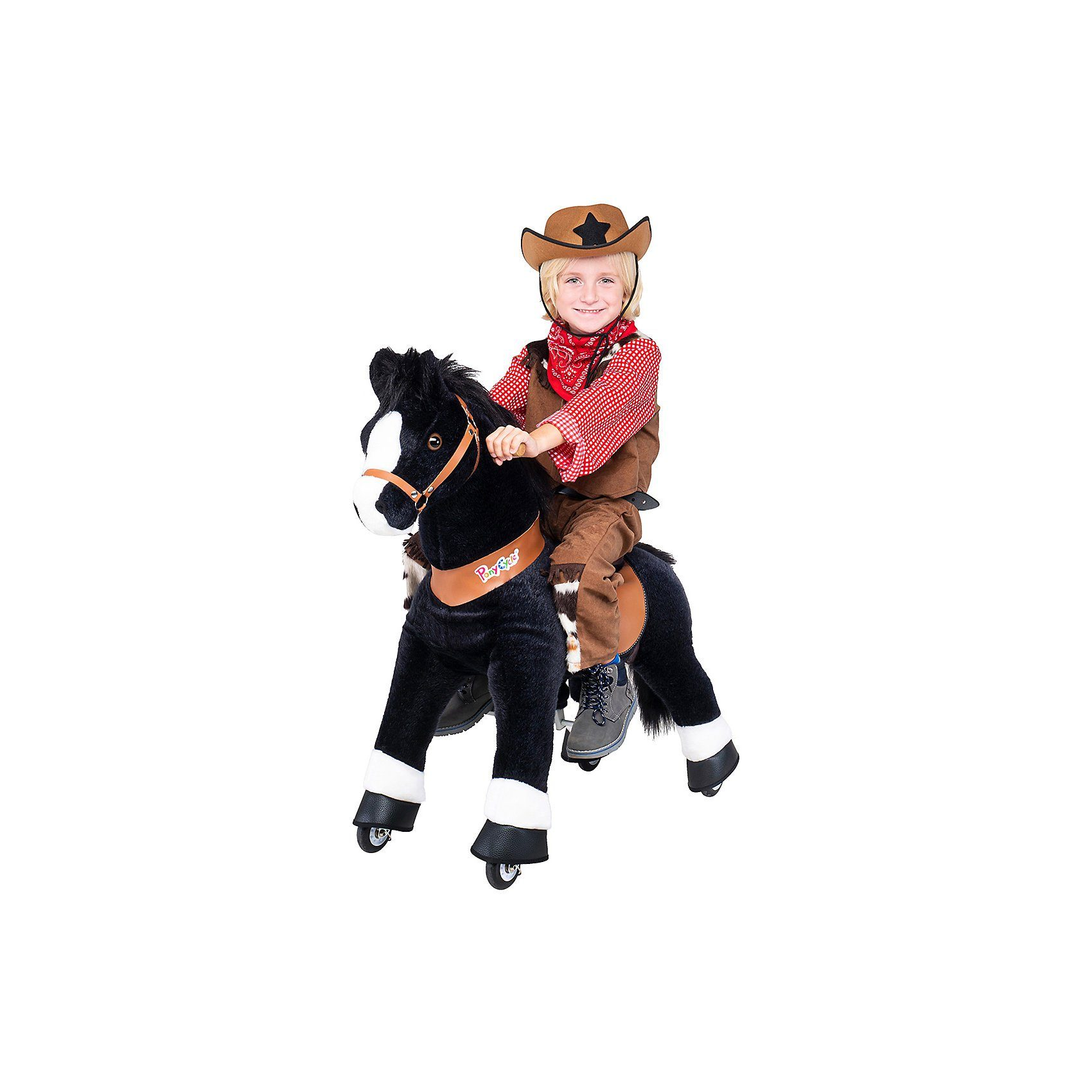 Pony Cycle Ponycycle Pferd ''Black Beauty'' mittel, 90cm