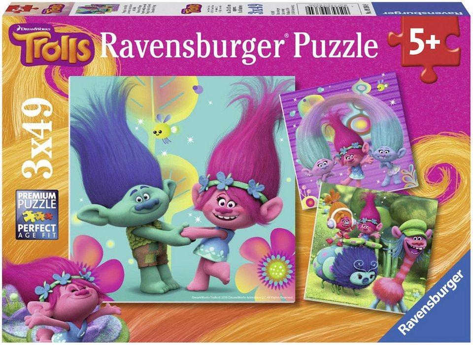 Ravensburger Puzzle, »DreamWorks, Trolls: Poppys bunte Welt«