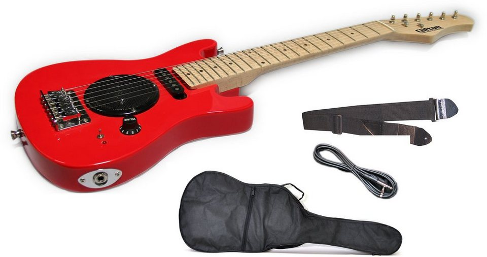 Clifton Elektrogitarren Set für Kinder, »E Gitarre Junior«