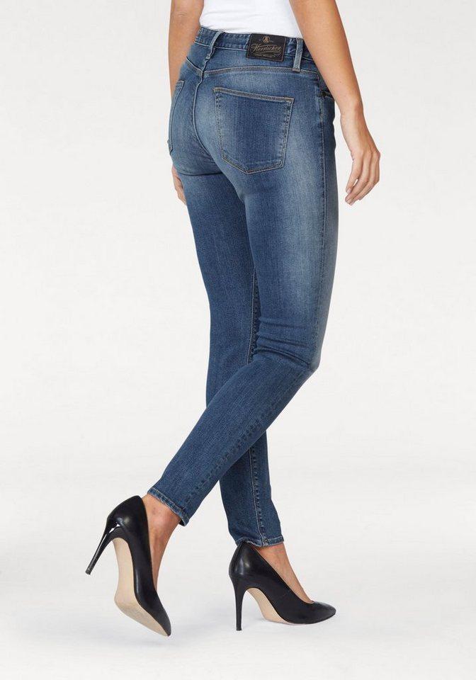 Herrlicher Slim-fit-Jeans »Herrlicher superslim« in faded-blue