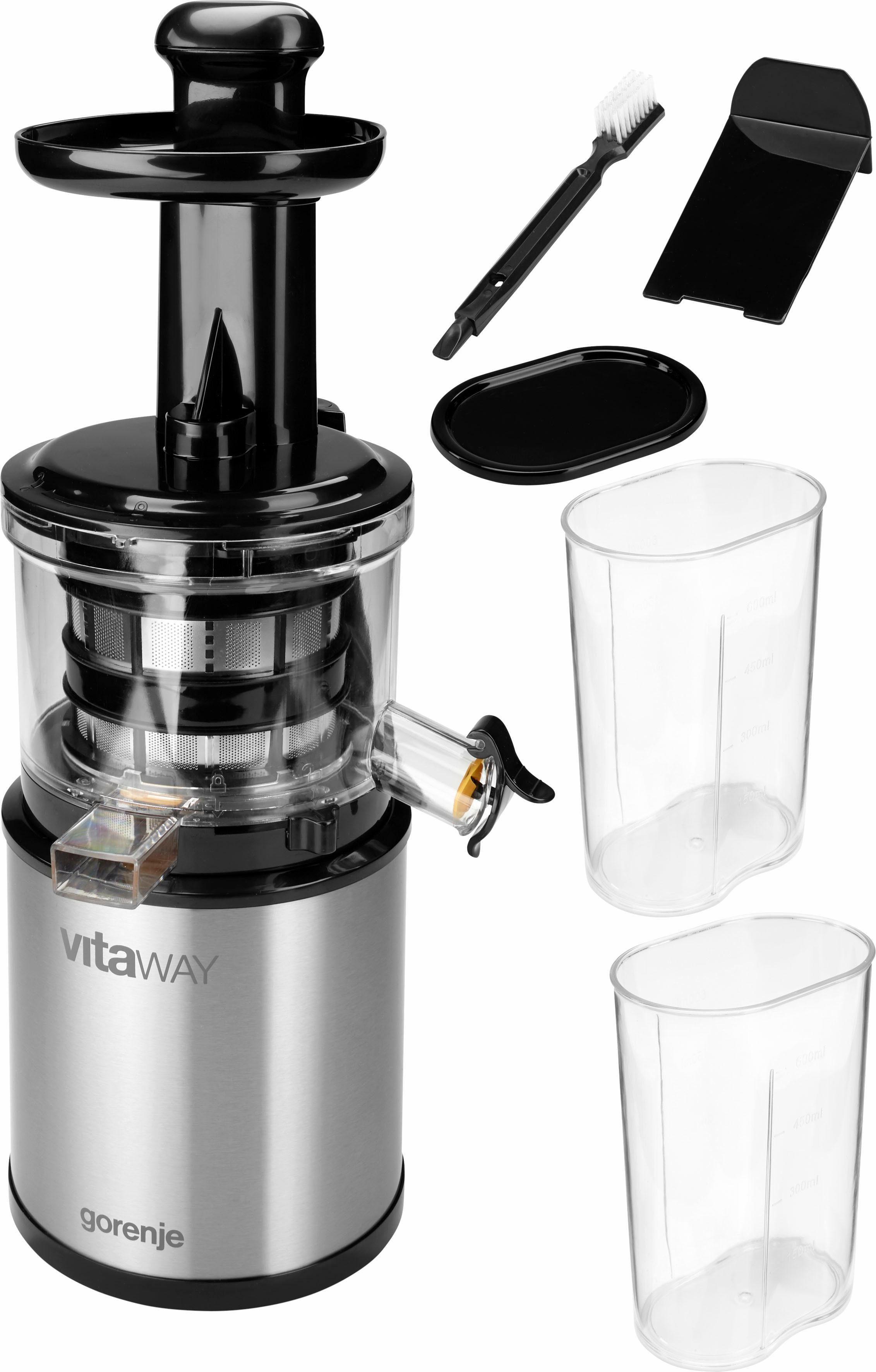 GORENJE Slow Juicer VitaWay SlowJuicer JC4800VWY, 200 W, 200 Watt