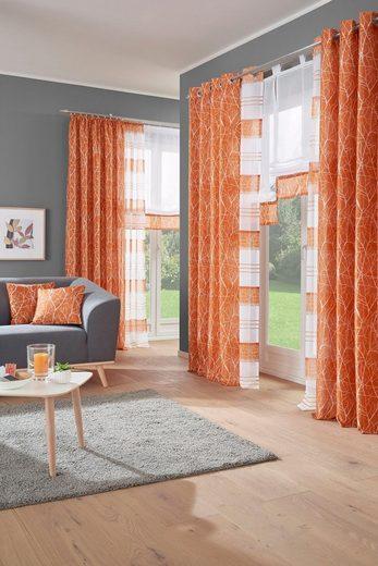 Vorhang »Camposa«, my home, Kräuselband (2 Stück)