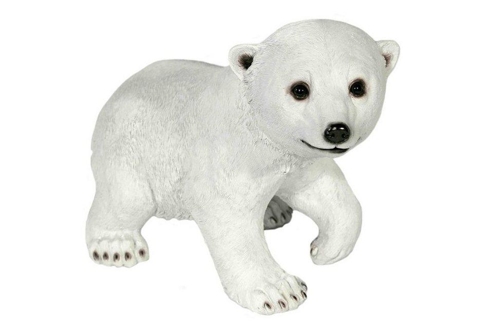 Home affaire Dekofigur »Eisbär stehend« in weiß/schwarz